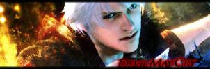 Devil May Cry - Nero sig 2 by raXike