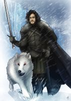 Game of Thrones- Jon Snow by MatthewHogben