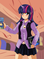 Twilight sparkle by bocodamondo