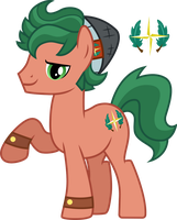 Timber Spruce ponified by CloudyGlow