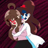 Little Witch Fire and Crazy Surgeon by K--ay