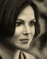 Regina Mills Lana Parrilla in progress by Woolf83