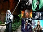 Sephiroth WallPaper Collage by DreagusProd