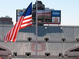 Flag8at Half-Mast for VT atOSU by WDWParksGal-Stock