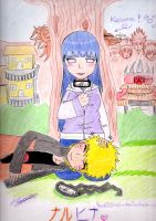 NaruHina - a little rest - COLO by itachi45140