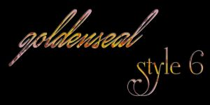Goldenseal Style  Six by goldensealgraphic