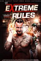 Extreme Rules Poster by isharkfeli