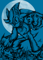The Night of the Werehog:: by SpyxedDemon