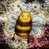 Bee Happy by ArtistsForCharity
