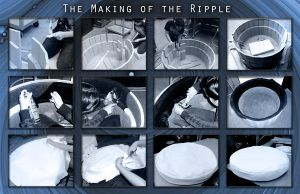 The Making of the Ripple by paintitblack