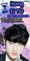 EXO-M Tao Bookmark [PNG] by xElaine