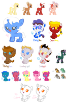 Unsold MLP Adopts - OPEN by zafara1222