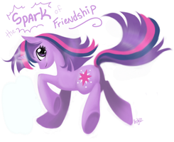 The SPARK of friendship by oddlittleleaf