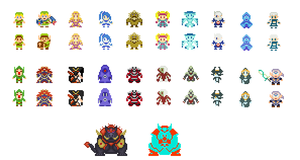 Hyrule Warriors Sprites by BLZofOZZ