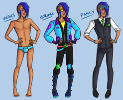 New Outfit References by Basuki