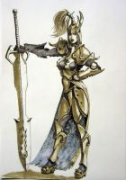 Armed and armored by Jutami