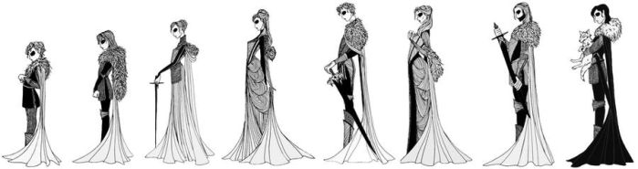 House Stark by cabins