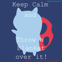 Keep Calm Catbug by SpFox by SpellboundFox