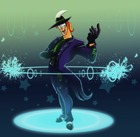 MusicMeister turning on the music by pink-ninja