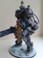 Frost Sentinel Dreadknight - right side closer by WoodlandHermit