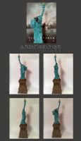 Cloverfield Statue Of Liberty by Whatpayne