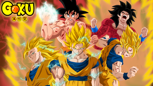 Goku evolution by HayabusaSnake