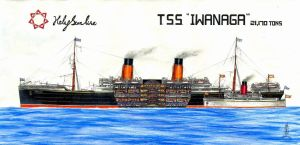Profile of T.S.S. Iwanaga by Scottvisnjic