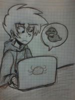 Karkat Human chat by LiETrickSTER