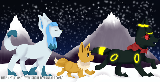 Secret Santa - Starry Night by The-One-Eyed-Ghoul