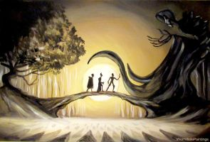 The Tale of the Three Brothers by WormholePaintings