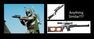 Boba Fett's gun possible source by Ghost141