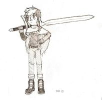 Sword Girl by BETGOLD