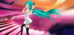 MMD - Miku Appearance WIM (Unedited Ver.) by MikuHatsune01