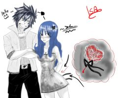 Happy Valentine's day 2013 Gruvia by Isayuuki