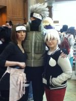 Soul with Kakashi and Rin by jt0002