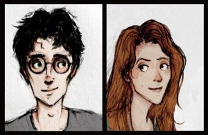 Harry and Ginny by hannahhillam