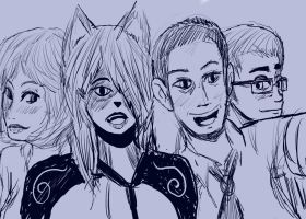 group picture by vaultboy28
