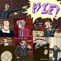 Objection - As if by ladychimera