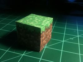 Minecraft Cube by Dreamparacite