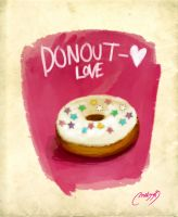 I love donout by melivillosa