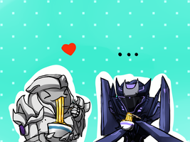 chibi Decepticons by No-pe
