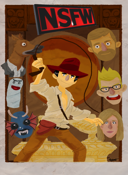 NSFW and The Lost Ark by Dwilart