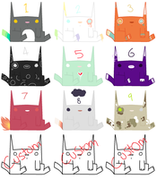 Free Kitty Adopts~! .:Closed:. by Arrestii