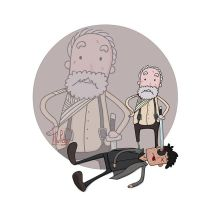 Hershel Killing Govenor by HuzRedy