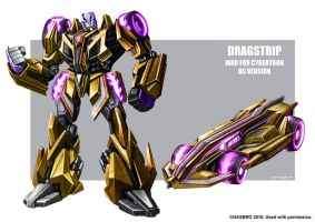 Dragstrip WFC concept art by MarceloMatere