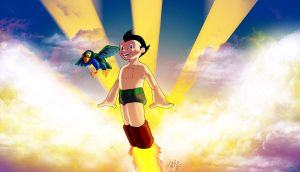 Astro Boy by LucGrigg
