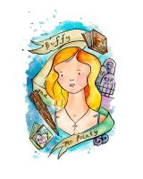 Buffy the Vampire Slayer by drawingsbynicole