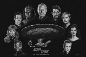 Star Trek: The Next Generation by bronze-dragonrider