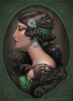 Carmen green Bohemme by Medusa-Dollmaker