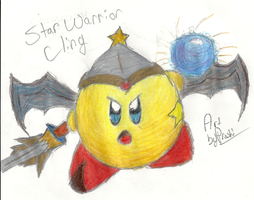 Star Warrior Cling by Proshi
